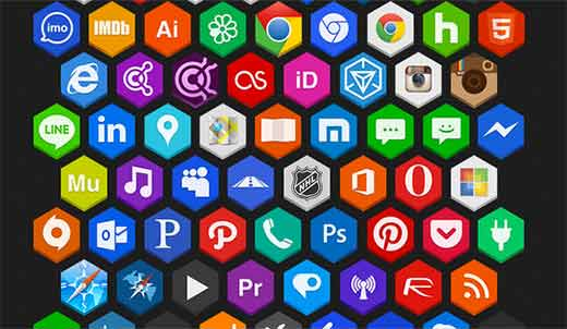 Hex Icons Pack ni Martz90