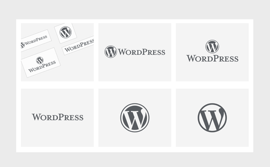 Primeri logotipa WordPress