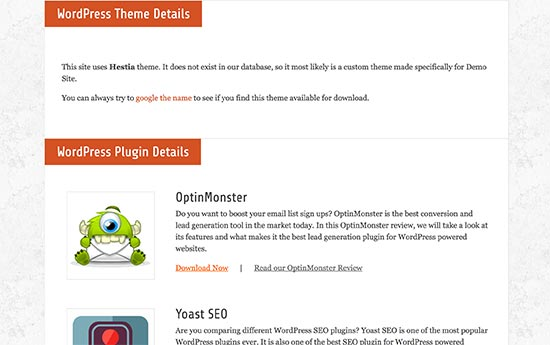 WordPress-thema en plug-ins