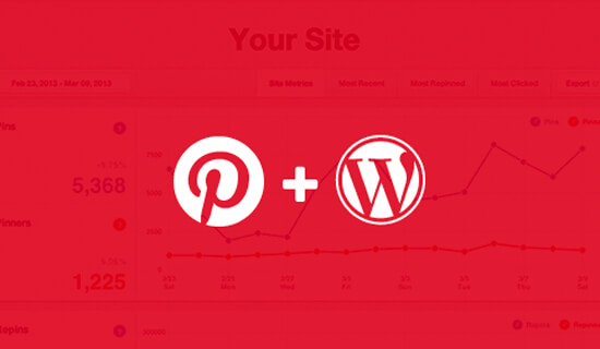 Controleer Pinterest Site op WordPress